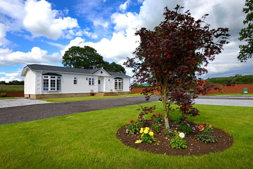 Dinwoodie Lodge Park Homes, Scotland